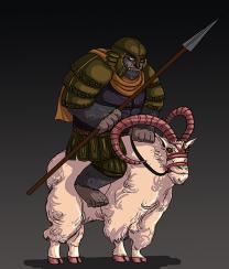 Gorilla Cavalry Concept